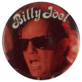 Billy Joel - 'Sunglasses' Button Badge